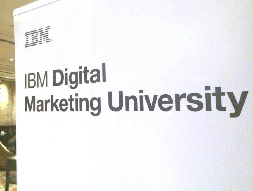 FR 2016 at IBM Digital Marketing University