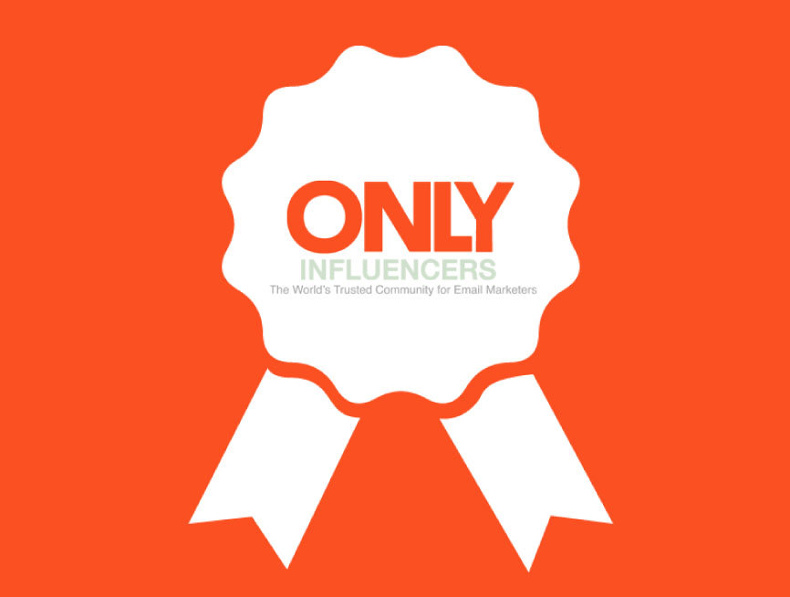 Only Influencers Email Innovation of the Week Winners