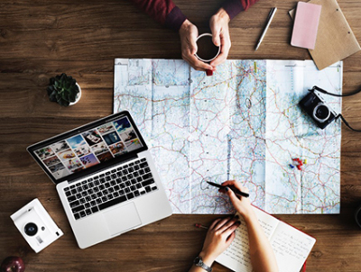 Behavioral marketing tactics for travel websites