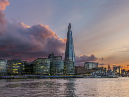 Fresh Ideas Live at The Shard event, November 2019