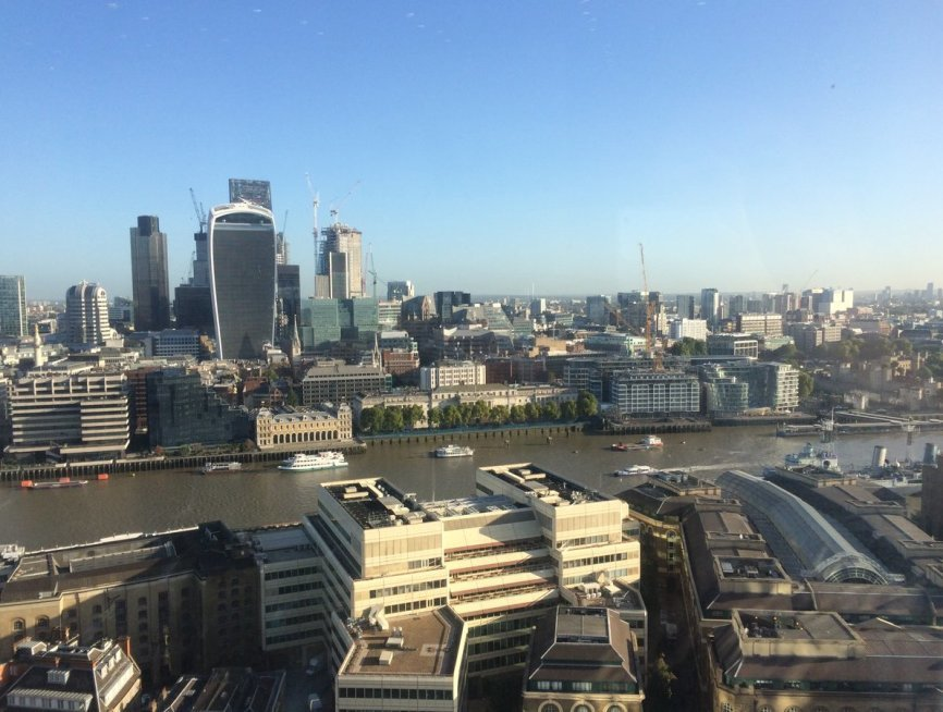 the shard lonfon tower bridge london bridge events work digital marketing fresh relevance real-time personalization