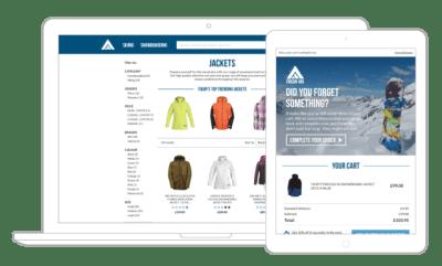 Fresh Ski website mockup