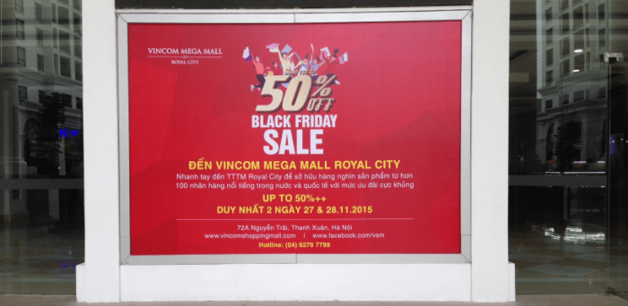 Black Friday in Hanoi