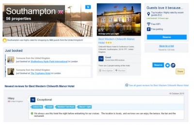 social proof on the web travel company digital marketing