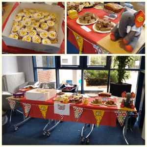 bakesale pudsey children in need charity fundraising