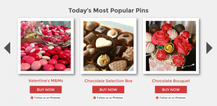 most popular pins carousel