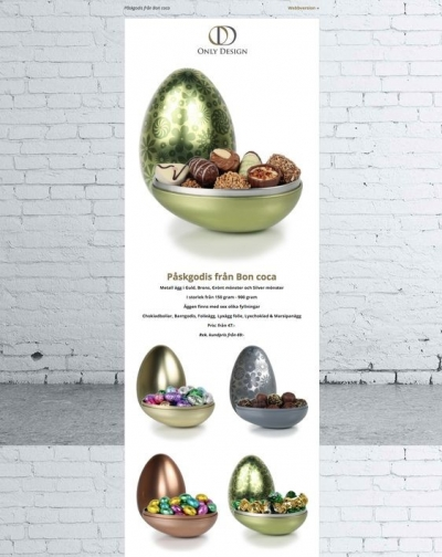 Amazing design for Easter email by Only Design