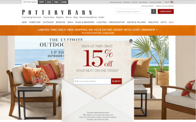popover example pottery barn personalized discount codes