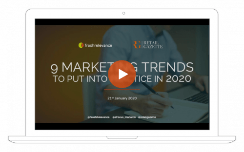 2020's most important marketing trends webinar