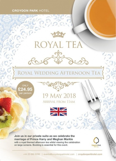 Royal wedding digital marketing email campaigns