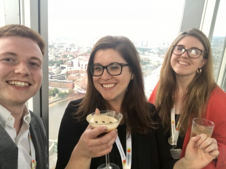 the shard digital marketing event after drinks