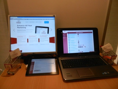 three types of technology mobile desktop and laptop