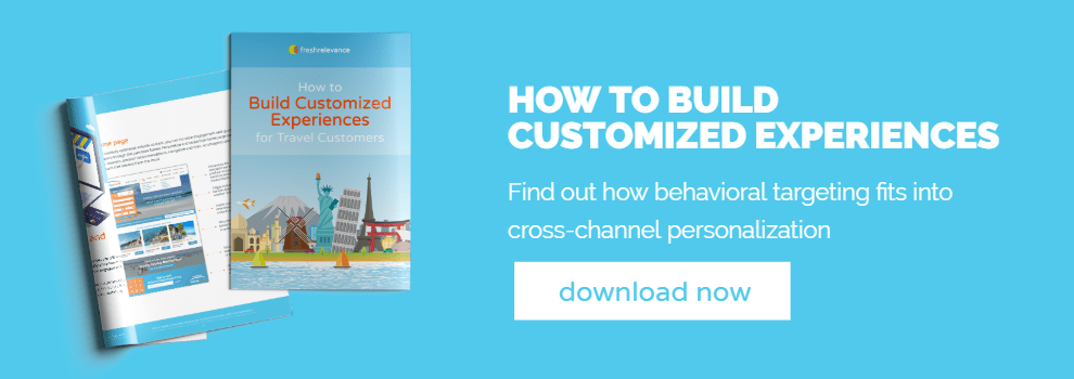 Download web and email personalization ebook for travel