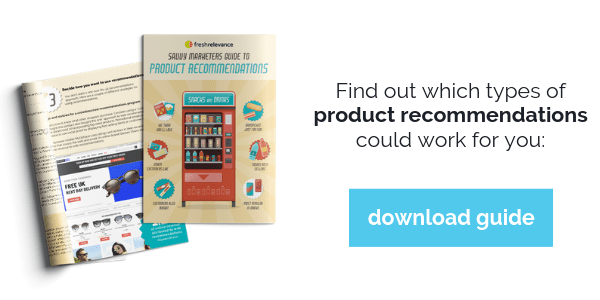 Download guide to product recommendations