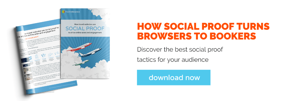 Download guide to social proof for travel companies
