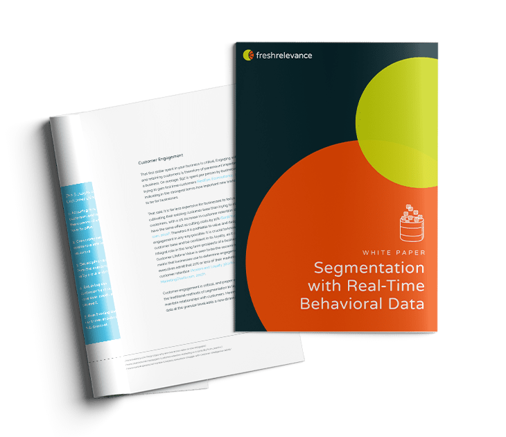 white paper audience segmentation with real-time behavioral data analysis and collection