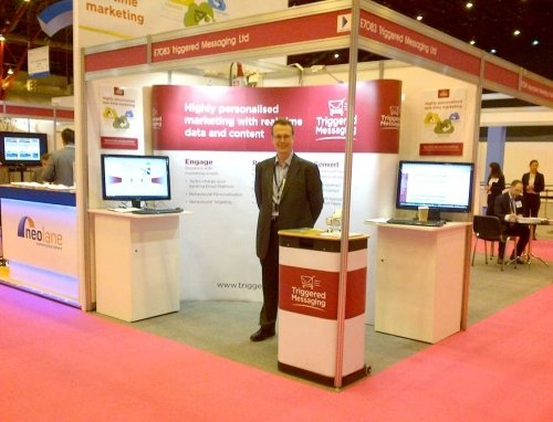 CEO Mike at Internet World Show 2013