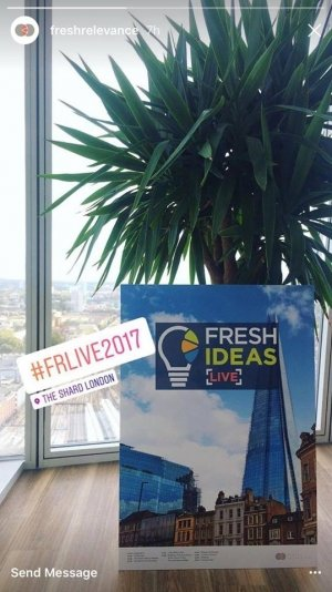 the shard view fresh ideas live 2017 fresh relevance event