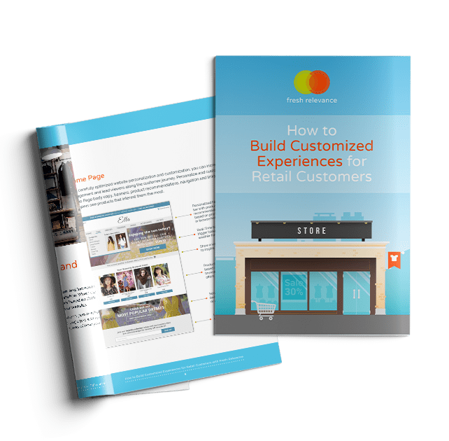 retail customers eBook front page fresh relevance customization